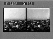 view [Overview of Portland city homes] [stereo photonegative.] digital asset: [Overview of Portland city homes] [stereo photonegative.]