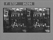 view (5) Santa Claus leaves with an empty bag. [Active no. 5283 : stereo photonegative.] digital asset: (5) Santa Claus leaves with an empty bag. [Active no. 5283 : stereo photonegative.]