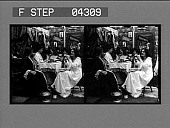 """view (1) The midnight spread. """"Girls! What if Miss Grey should come."""" [Caption no. 5433 : stereo photonegative.] digital asset: (1) The midnight spread. """"Girls! What if Miss Grey should come."""" [Caption no. 5433 : stereo photonegative.]"""