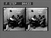 view A Straight Flush and Cards to Spare [stereo photonegative] digital asset: A Straight Flush and Cards to Spare [stereo photonegative].