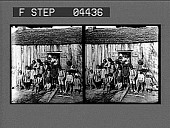 view [Many African American people outside house : stereoscopic photonegative.] digital asset: [Many African American people outside house : stereoscopic photonegative.]