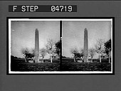 view The Obelisk at Heliopolis. Active no. 1012 : stereo interpositive digital asset number 1