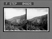 view The railway descending the mountains near Puerto Cabello en route from Caracas. 9024 [interpositive] digital asset: The railway descending the mountains near Puerto Cabello en route from Caracas. 9024 [interpositive]