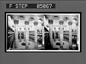 view Vast interior of the Pension Building arranged for the Inaugural Ball. [Active no. 9927 : stereo photonegative,] digital asset: Vast interior of the Pension Building arranged for the Inaugural Ball. [Active no. 9927 : stereo photonegative,] 1905.