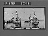 view [Small steamship at harbor dock.] 10396 interpositive digital asset: [Small steamship at harbor dock.] 10396 interpositive.