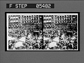 view Mounted troops in the procession. [Active no. 11111 : stereo interpositive] digital asset: Mounted troops in the procession. [Active no. 11111 : stereo interpositive, 1906.]