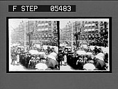 view Along the Calle de Alcala during the procession. [Active No. 11112 : stereoscopic interpositive.] digital asset: Along the Calle de Alcala during the procession. [Active No. 11112 : stereoscopic interpositive.] 1906.