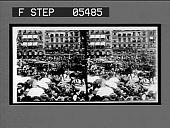 view State carriages in the procession. [Actiive no. 11114 : stereo interpositive.] digital asset: State carriages in the procession. [Actiive no. 11114 : stereo interpositive.] 1906.