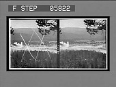 view Charm of the tourists--Old Faithful Geyser and Old Faithful Inn. [Active no. 12054 : stereo interpositive,] digital asset: Charm of the tourists--Old Faithful Geyser and Old Faithful Inn. [Active no. 12054 : stereo interpositive,] 1904.
