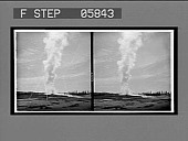 view Old Faithful in action by moonlight. 12069 interpositive digital asset: Old Faithful in action by moonlight. 12069 interpositive 1904.