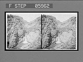 view Ute Pass and Rainbow Falls, Manitou. [Active no. 12368: Stereo Interpositive] digital asset: Ute Pass and Rainbow Falls, Manitou. [Active no. 12368: Stereo Interpositive].