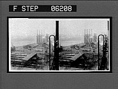 view Among the blast furnaces and rolling mills in the famous Homestead Steel Works. Caption no. 13109 : stereoscopic interpositive digital asset: Among the blast furnaces and rolling mills in the famous Homestead Steel Works. Caption no. 13109 : stereoscopic interpositive, 1907.
