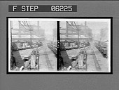 view A yard scene--ingots from the stripper for the rolling mills. 13124 interpositive digital asset: A yard scene--ingots from the stripper for the rolling mills. 13124 interpositive 1907.