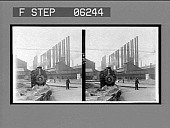 view A forest of stacks--in the yards of the great Homestead Steel Works. [Active no. 13141 : interpositive.] digital asset: A forest of stacks--in the yards of the great Homestead Steel Works. [Active no. 13141 : interpositive.]