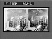 view Shaping a big I beam, making structural steel, rolling mill. [Active no. 13143 : stereo interpositive.] digital asset: Shaping a big I beam, making structural steel, rolling mill. [Active no. 13143 : stereo interpositive.]