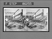 view Piling and loading steel billets from the blooming mill. [Active no. 13152 : stereo interpositive,] digital asset: Piling and loading steel billets from the blooming mill. [Active no. 13152 : stereo interpositive,] 1907.