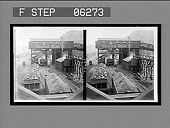 view A coal mine tipple where coal is weighed and loaded into freight cars. 13223 interpositive digital asset: A coal mine tipple where coal is weighed and loaded into freight cars. 13223 interpositive 1906.