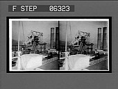view The walking beam--transfers power from engine to paddles, Steamer Albany, Hudson River. 13524 interpositive digital asset: The walking beam--transfers power from engine to paddles, Steamer Albany, Hudson River. 13524 interpositive.