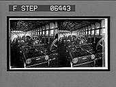 view Engine Room, White Oak Cotton Mills. Stereo interpositive digital asset: Engine Room, White Oak Cotton Mills. Stereo interpositive.