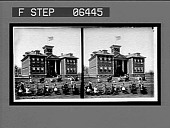 view White Oak Cotton Mill School, White Oak Cotton Mills. [Stereo interpositive.] digital asset: White Oak Cotton Mill School, White Oak Cotton Mills. [Stereo interpositive.]