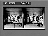 view [Children in White Oak school room.] Stereo interpositive digital asset: [Children in White Oak school room.] Stereo interpositive.