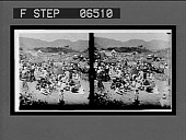 view Mohammedans celebrating a holiday in the hills outside Jaipur. [Active no. 14032 : stereo interpositive.] digital asset: Mohammedans celebrating a holiday in the hills outside Jaipur. [Active no. 14032 : stereo interpositive.]