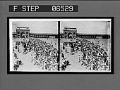 view Assembling for prayer, multitudes of devout Mohammedans in the courtyard of the Jumma Mosque. 14045 Interpositive digital asset: Assembling for prayer, multitudes of devout Mohammedans in the courtyard of the Jumma Mosque. 14045 Interpositive.