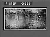 view Group of miners in the main tunnel (1 1/2 mile long) of a huge coal mine. 14515 interpositive digital asset: Group of miners in the main tunnel (1 1/2 mile long) of a huge coal mine. 14515 interpositive.