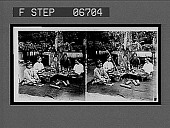 view Making cigars, Burmese women cutting and rolling the wrappers. Active no. 14528 : stereo interpositive digital asset: Making cigars, Burmese women cutting and rolling the wrappers. Active no. 14528 : stereo interpositive.