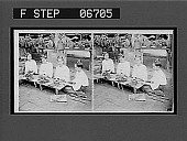 view Burmese women rolling leaf tobacco into cigars. [Caption no. 14529 : stereoscopic interpositive.] digital asset: Burmese women rolling leaf tobacco into cigars. [Caption no. 14529 : stereoscopic interpositive.]