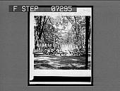 view U.S. Hotel Fountain [on envelope]. [Active no. 26 : half-stereo interpositive.] digital asset: U.S. Hotel Fountain [on envelope]. [Active no. 26 : half-stereo interpositive.]