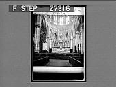 view Church interior, Phila [on envelope]. [Cat. no. 14 : interpositive.] digital asset: Church interior, Phila [on envelope]. [Cat. no. 14 : interpositive.]