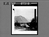 view [View of river and mountains.] Active no. 1. Interpositive digital asset: [View of river and mountains.] Active no. 1. Interpositive.