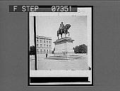 view [Equestrian statue in Norway.] 329 interpositive digital asset: [Equestrian statue in Norway.] 329 interpositive.