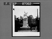 view [Equestrian statue in France. Active no. 762 : interpositive.] digital asset: [Equestrian statue in France. Active no. 762 : interpositive.]