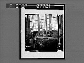 view [Peerless auto plant: worker and machine.] No. 20 : interpositive digital asset: [Peerless auto plant: worker and machine.] No. 20 : interpositive, 1909.