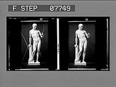 view [Sculpture of nude male figure, standing, No. 17 : glass stereo interpositive.] digital asset: [Sculpture of nude male figure, standing, No. 17 : glass stereo interpositive.]
