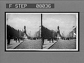 view [O'Connell Monument in Ireland.] [Active no. 02101: stereo interpositive] digital asset: [O'Connell Monument in Ireland.] [Active no. 02101: stereo interpositive].