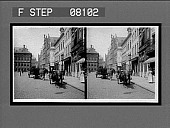 view [Street scene. Active no. 02607 : stereo interpositive.] digital asset: [Street scene. Active no. 02607 : stereo interpositive.]