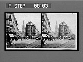view [Street scene. Active no. 02608 : stereo interpositive.] digital asset: [Street scene. Active no. 02608 : stereo interpositive.]