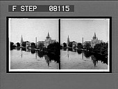 view [Buildings reflected in body of water. Active no. 02620 : stereo interpositive.] digital asset: [Buildings reflected in body of water. Active no. 02620 : stereo interpositive.]