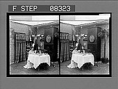 view [Couple dining in home.] 5 photonegative digital asset: [Couple dining in home.] 5 photonegative.