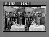 view [Couple dining in home.] 6 photonegative digital asset: [Couple dining in home.] 6 photonegative.