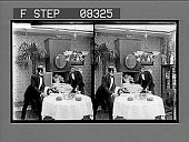 view [Action in home dining room.] 7 photonegative digital asset: [Action in home dining room.] 7 photonegative.