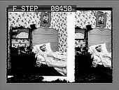 view [Man in bed in home.] 150 photonegative digital asset: [Man in bed in home.] 150 photonegative.