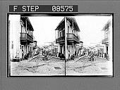 view [Street scene.] 381 Photonegative digital asset: [Street scene.] 381 Photonegative.