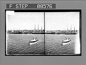 view San Juan from the Bay, Porto Rico. [Active no. 383 : stereo photonegative.] digital asset: San Juan from the Bay, Porto Rico. [Active no. 383 : stereo photonegative.]