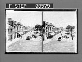 view [Street scene.] 391 Photonegative digital asset: [Street scene.] 391 Photonegative.