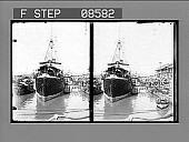 view [Dock scene.] 401 Photonegative digital asset: [Dock scene.] 401 Photonegative.