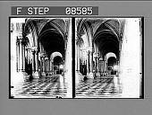 view Interior of the Cathedral, Porto Rico. [Active no. 405 : stereo photonegative.] digital asset: Interior of the Cathedral, Porto Rico. [Active no. 405 : stereo photonegative.]